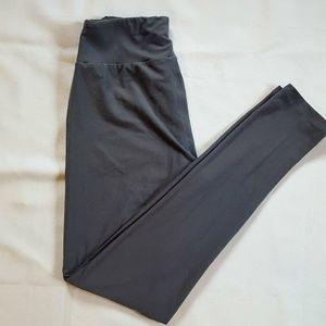 LulaRoe Grey One Size legging